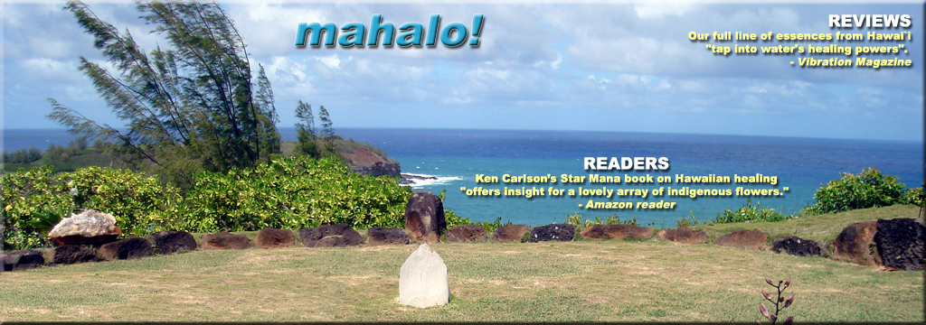 mahalo to readers and guests